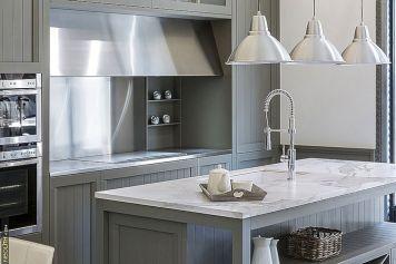 Slab Porcelain Countertops Kitchen
