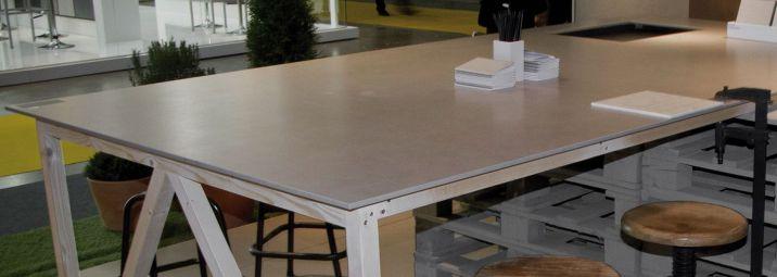 Slab Porcelain Tile Countertop