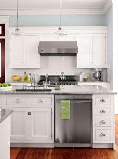 White Kitchen Cabinets Design Idea