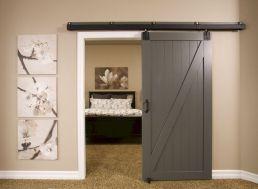 Barn Door Basement Idea