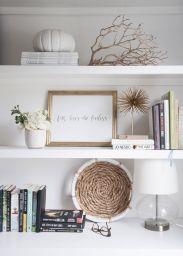 Decorating Bookshelves Without Books