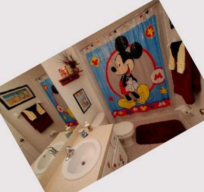 Design Mickey Mouse Bathroom