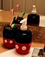 Disney Mickey Mouse Bathroom Decor