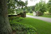 Landscape Driveway Entrance Gate