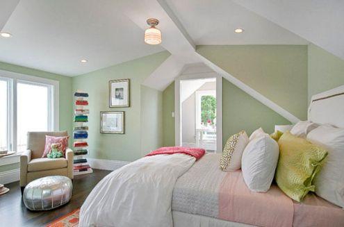 Light Green Bedroom Wall Color