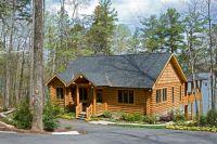Log Cabin Lake House Plans