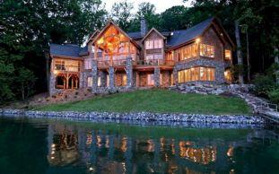 Luxury Lake House Plans