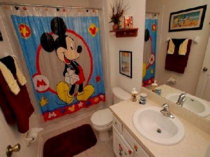 Mickey Mouse Kids Bathroom Ideas