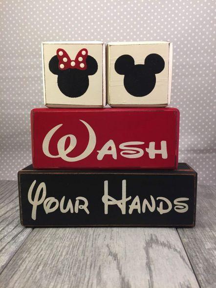Mickey And Minnie Mouse Bathroom Ideas