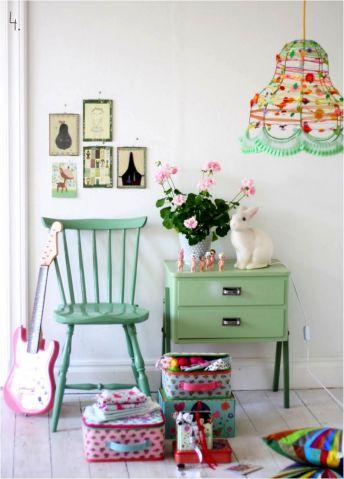 Mint Green Room