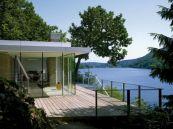 Modern Lake House Designs With Decks