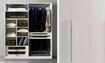 Modern Wooden Wardrobe Design