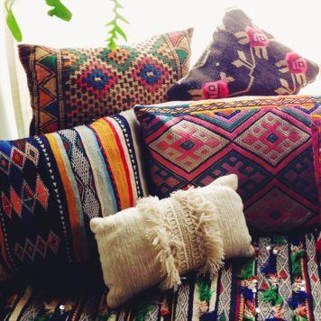 Moroccan And Bohemian Pillows