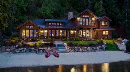 Mountain Lake House Plans