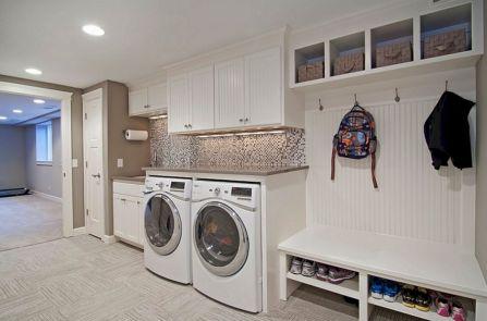 Mudroom Laundry Room Combo