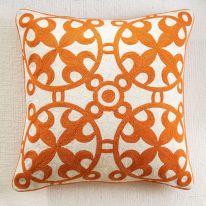 Orange Decorative Pillow Cover
