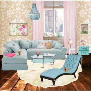 Pastels Living Room