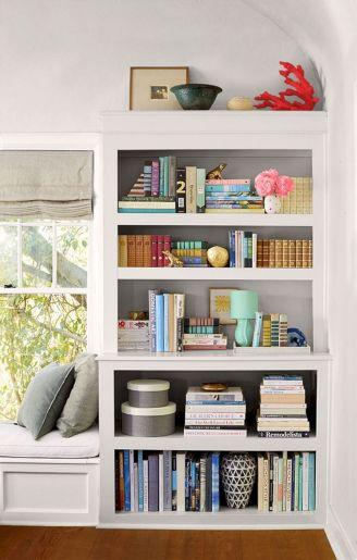 Pinterest Styling Bookshelves