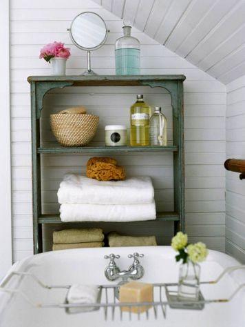 Pretty Bathroom Storage