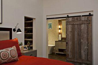 Sliding Barn Door Bedroom