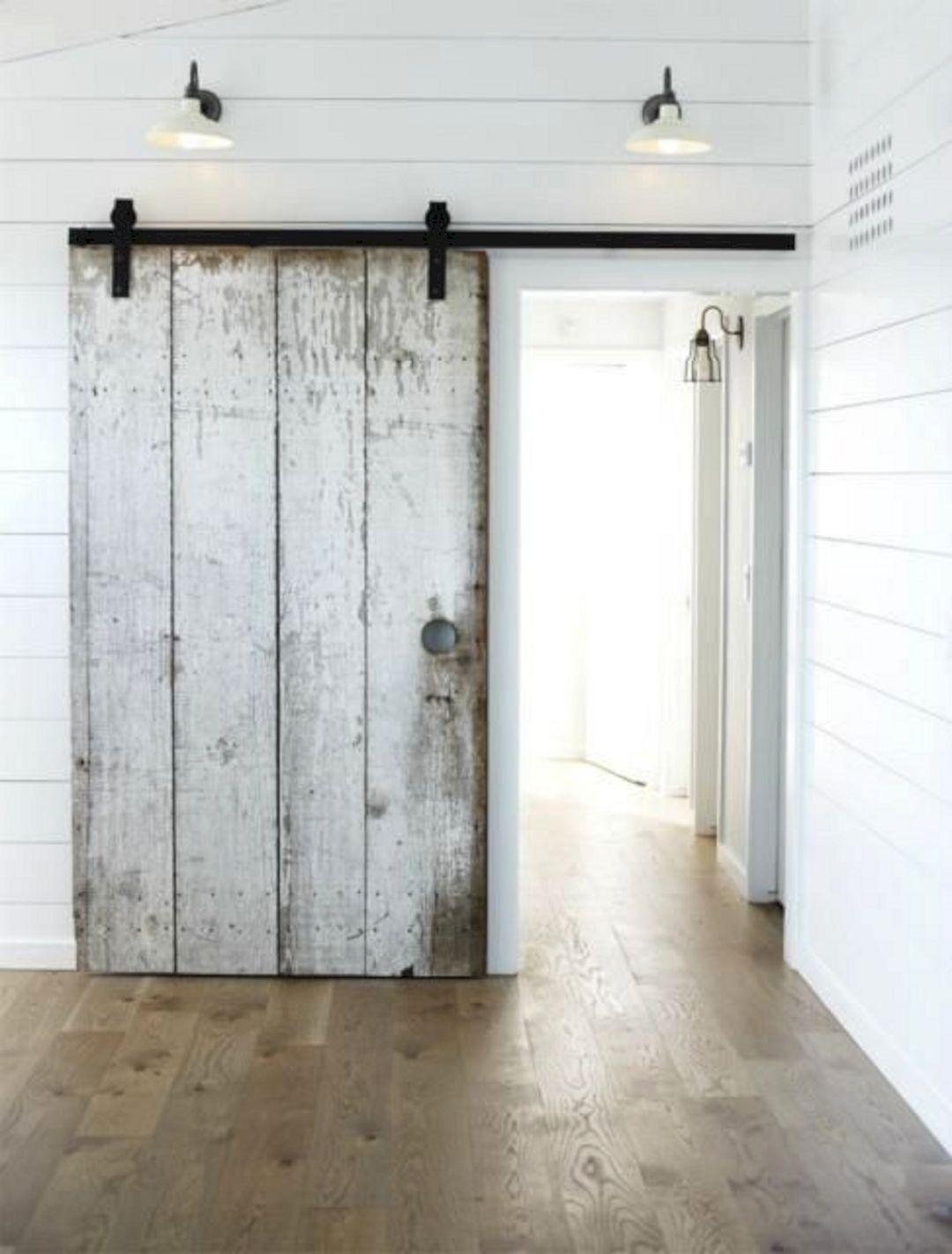 Sliding Barn Door Modern Farmhouse