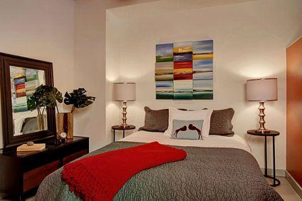 Small Apartment Bedroom Idea