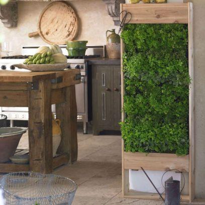 Vertical Wall Herb Gardens