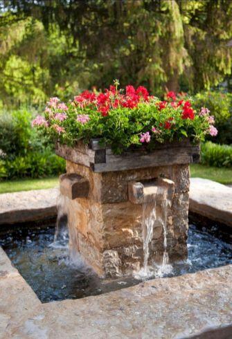 Beautiful Garden Fountains Ideas