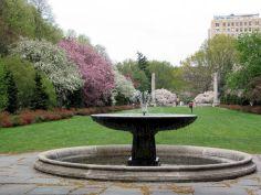 Brooklyn Botanic Garden Fountain