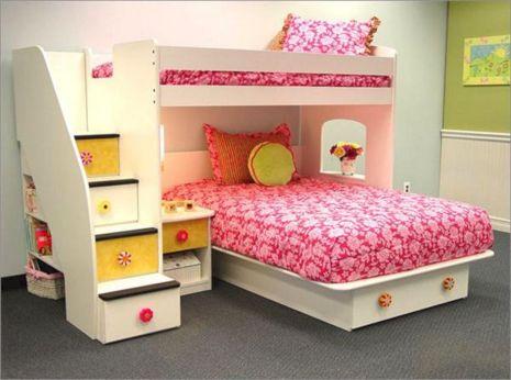 Bunk Beds Girls Bedroom Ideas