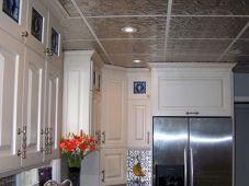 Ceiling Tin Tile Backsplash For Kitchens