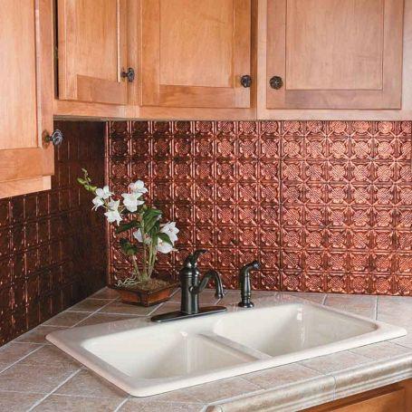 Copper Kitchen Backsplash Ideas