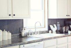 Corrugated Tin Kitchen Backsplash