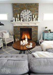 Cozy Winter Living Rooms