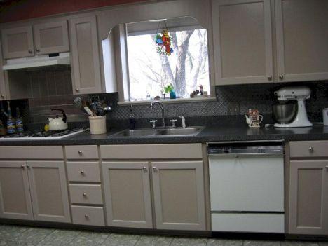 Faux Tin Backsplash Tiles For Kitchens