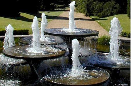 Homemade Garden Water Fountain
