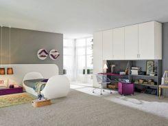 Purple Teenage Girl Bedroom Ideas