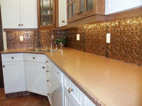 Tin Backsplash Tiles Kitchen Ideas