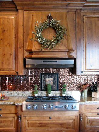 35 Beautiful Rustic Metal Kitchen Backsplash Tile Ideas For Your Awesome Kitchen Freshouz Com