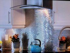 Tin Backsplash Tiles Kitchens