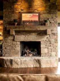 White Wood Fireplace Surround Ideas 2