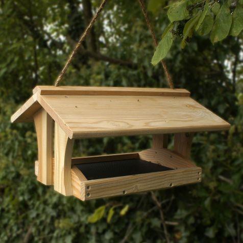 Wooden Bird Feeder Plans