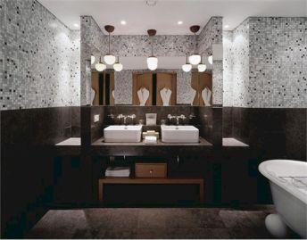 Black Tile Bathroom Ideas