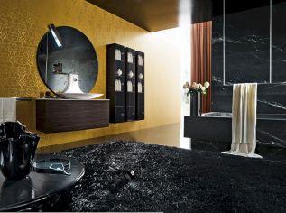 Black And Gold Bathroom Wall Decor