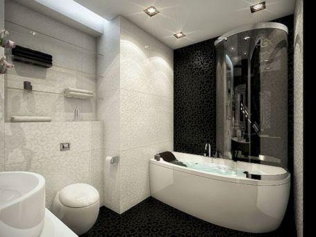Black And White Bathroom Accessories