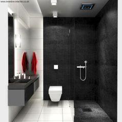 Black And White Small Bathroom Ideas