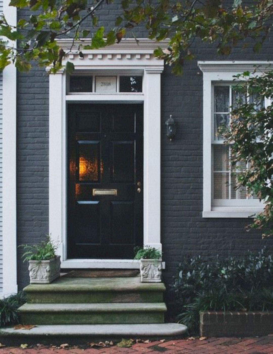 Blue door yellow house white trim blue door yellow house - White house white trim ...