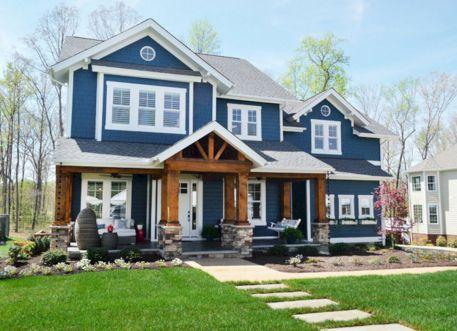 Blue Exterior House Color