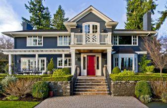 Blue Exterior House Colors