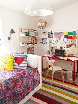 Colorful Teen Room Ideas